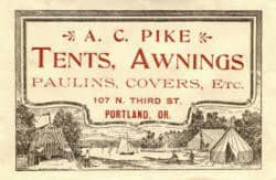 Pike Awning History