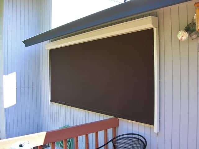 rollup screen