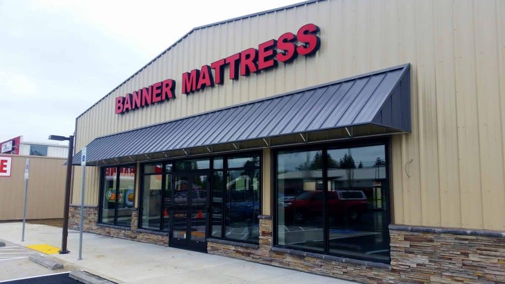 Banner Mattress Awning