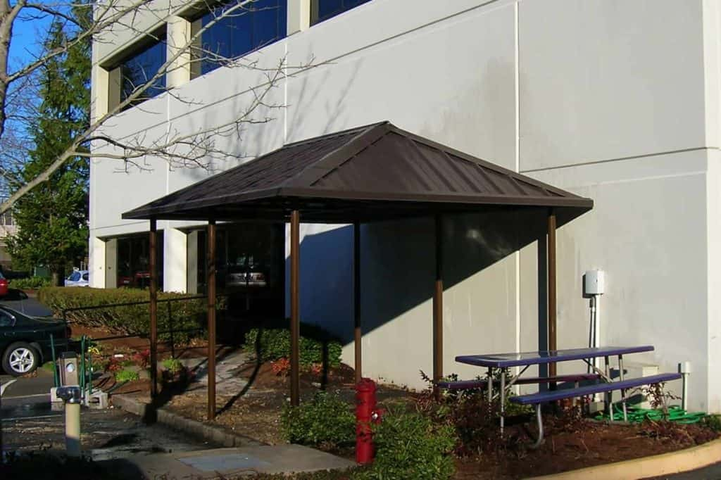 Sheet Metal Canopy