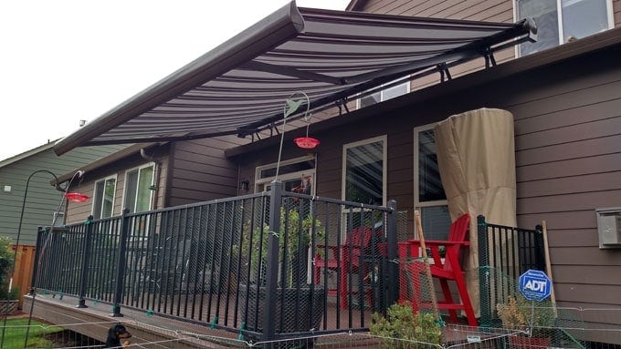 Residential Retractable Awnings Pike Awning Inc Quality Awnings