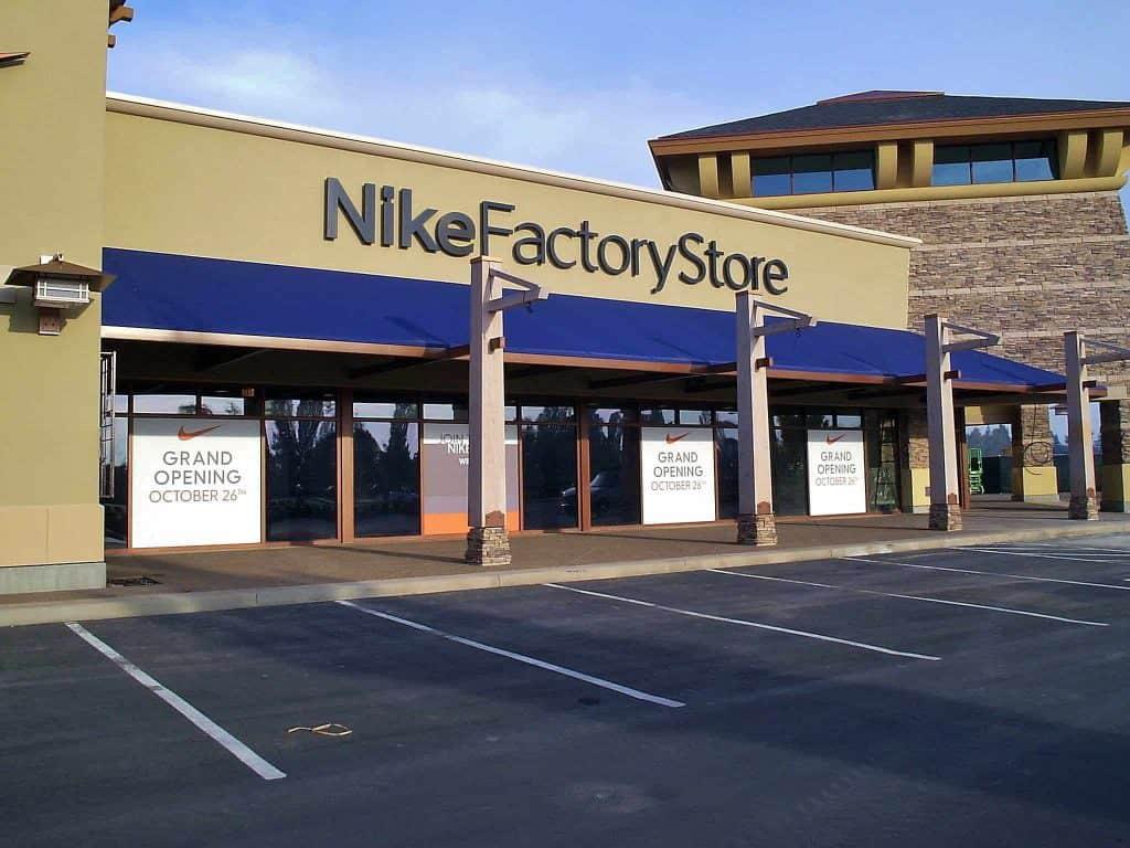Nike Store Awning
