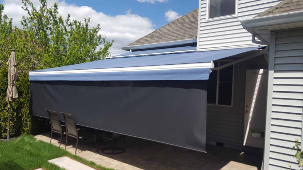portland patio awning
