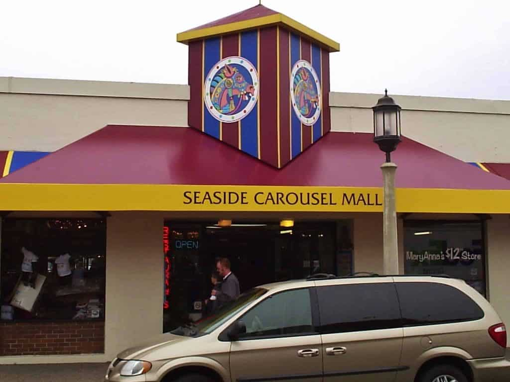 Seaside Mall Awning