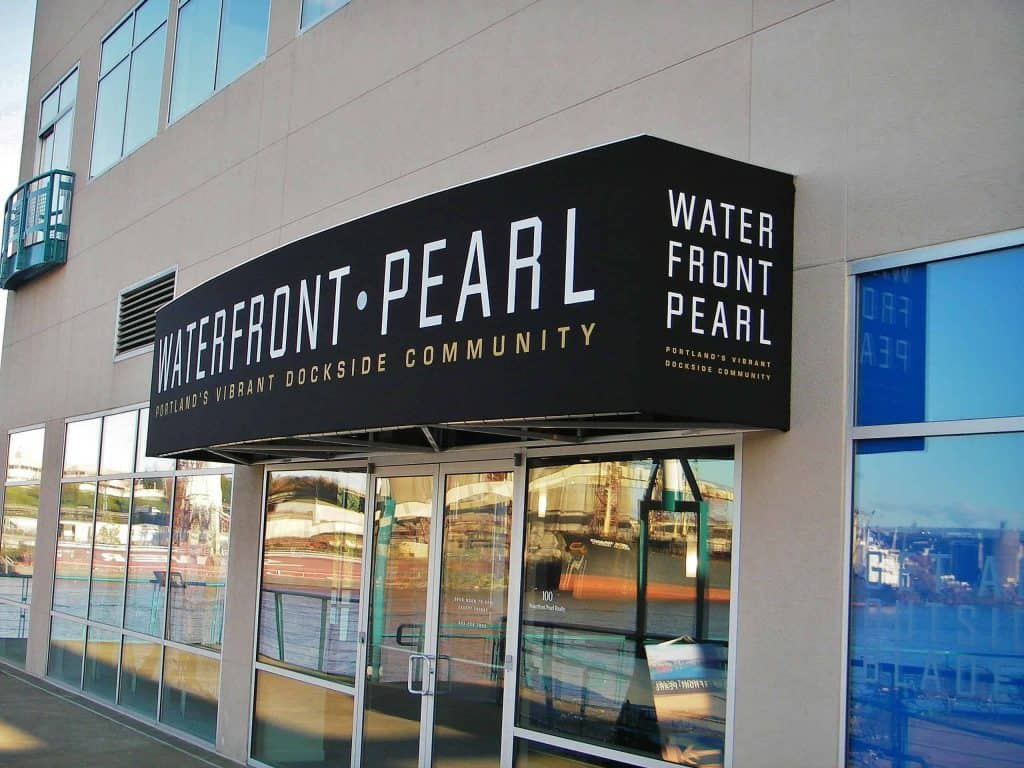 Waterfront Pearl Awning