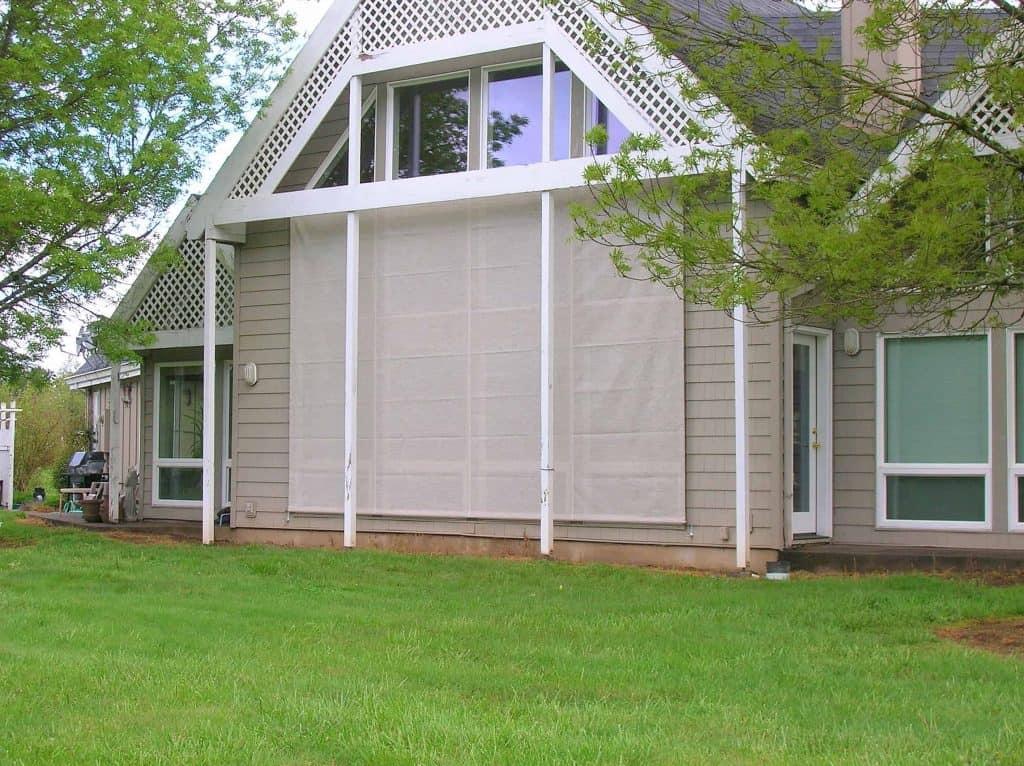 exterior window screen