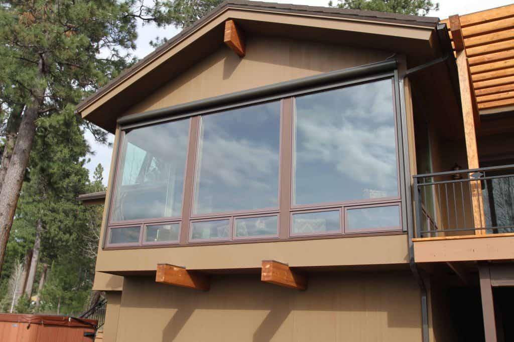 motorized window screen