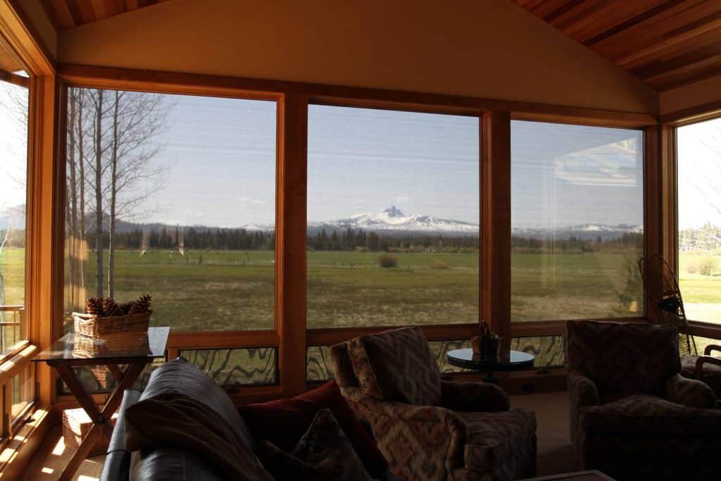 motorized retractable window screen