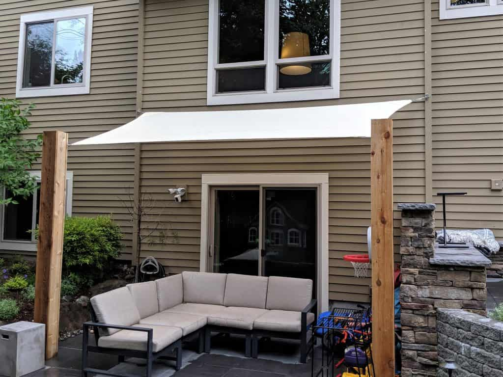 patio shade sail
