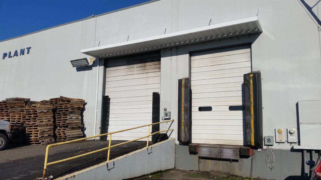 loading dock awning
