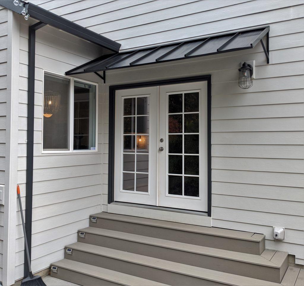 residential metal awning